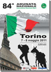 84° adunata alpini a Torino 2011 - Manifesto ufficiale