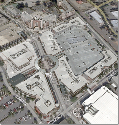 Virtual Earth 3D: Redmond Town Center