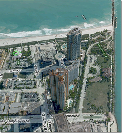 Virtual Earth 3D: Miami Beach