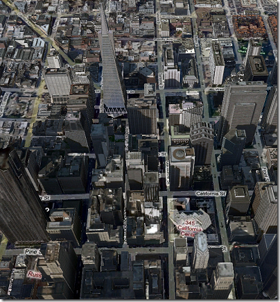 Virtual Earth 3D: San Francisco