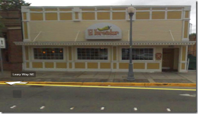 Google Street View: El Toreador restaurant