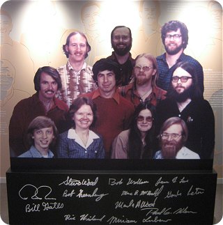 Microsoft Visitor Center: original employees