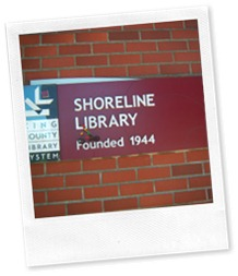 Wheelie on Shoreline sign