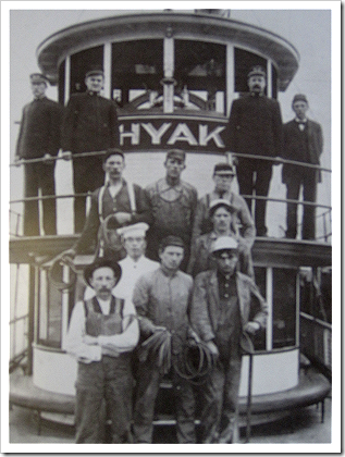 Crew of the Hyak ferry