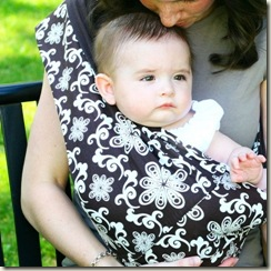 Baby Sling Infant Lily Small[2]