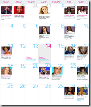 Calendario - Enero 2009.