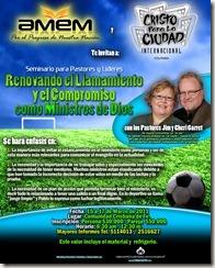 PrJim Medellin conference flyer