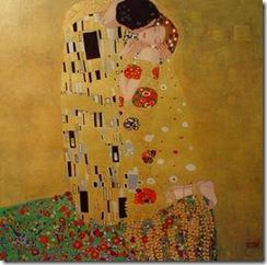 O beijo oleo sobre tela gustav klimt