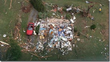 house gone