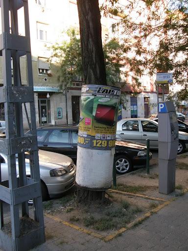 Lehet tér, XIII. kerület, Lehel Csarnok, Budapest,   közterületi reklámozás, reklám