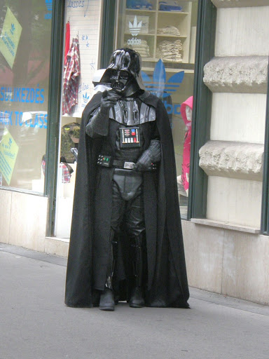 Darth Vader, Budapest, Hungary, Star Wars