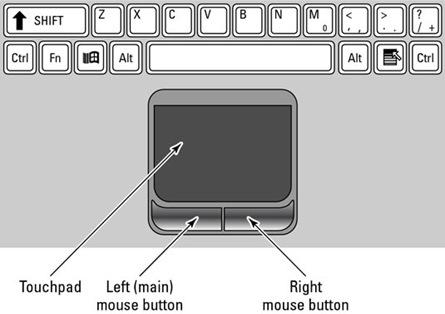 mouse-pad laptop