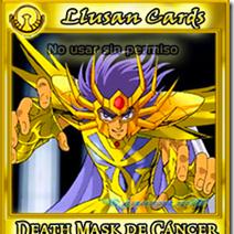 DeathMask de Cancer ★ Los Santos de Oro | Saint Ll-Cards
