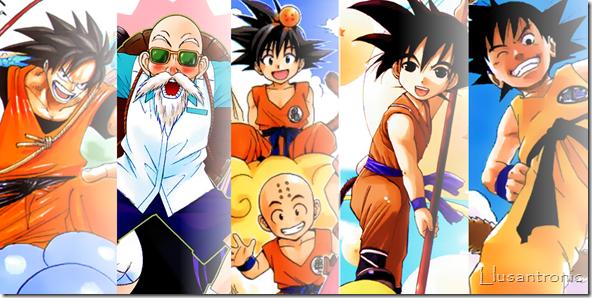 Tributo a Dragon Ball: Personajes dibujados por otros Mangakas