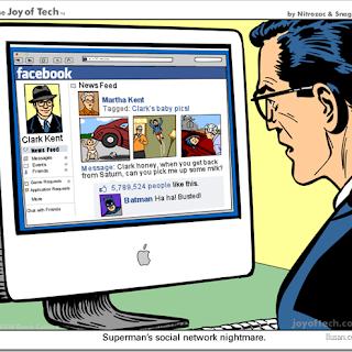 El porqué Superman no debería tener una cuenta en Facebook