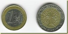 0101 euro remplace le franc