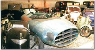 10.01 voiture expérimentale 1953