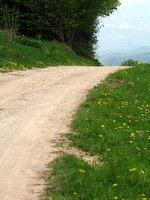 Cesta proti Javoršici