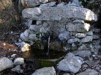 Vodni izvir pred začetkom vzpona