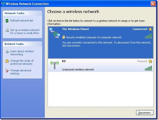 WiF Windows XPi Cara Buat Hotspot dari Laptop