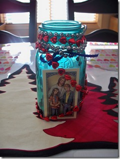2010 Lent Bean Jar