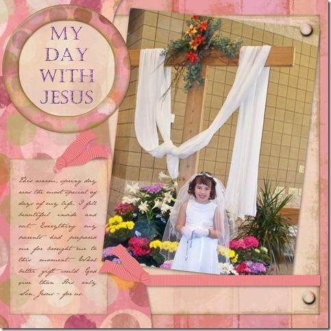 Mikaylas 1st Communion - Page 006