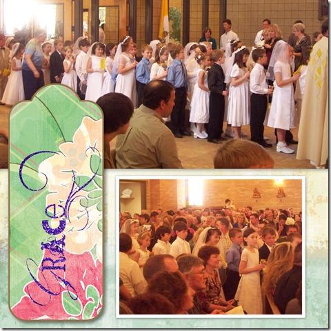 Mikaylas 1st Communion - Page 010
