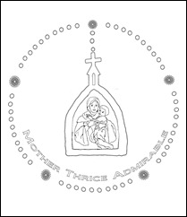 Schoenstatt Rosary-colorpage1