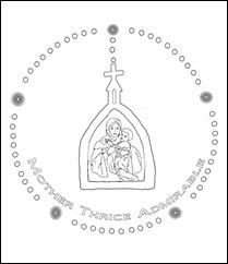 Schoenstatt Rosary-colorpage1