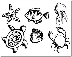 Sea Life to Color - Gr2
