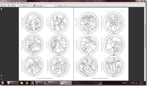 ... Cross Coloring Sheets using the lovely artworks of GospelGlass.com as