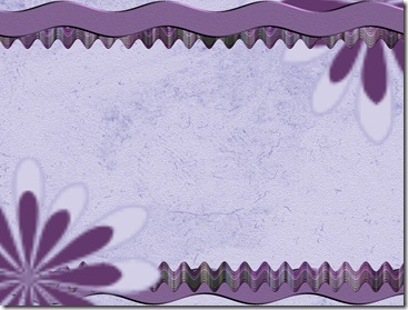 Purple Flower and Ribbon!