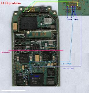 Trik Jumper  Nokia 3310 lcd+