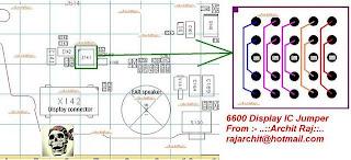 Trik  Jumper 6600 Display IC Jumper
