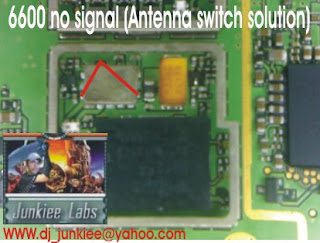 Trik Jumper  6600 No signal Antena Sw Solution