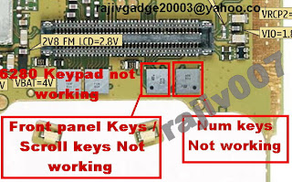 Trik Jumper 6280  Keypad not working