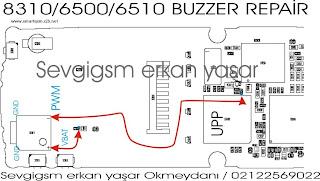 Trik Jumper 8310  buzzer repair