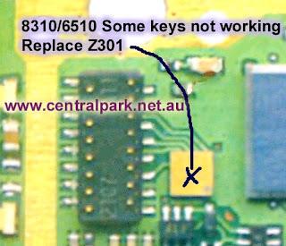 Trik Jumper keypad  nokia 8310