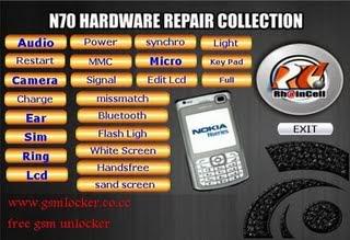Solusi Hardware Nokia N70