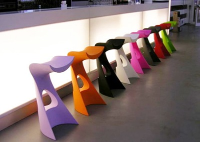 bar stools modern furniture karim rashid