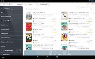 Screenshot of Mantano Ebook Reader Premium