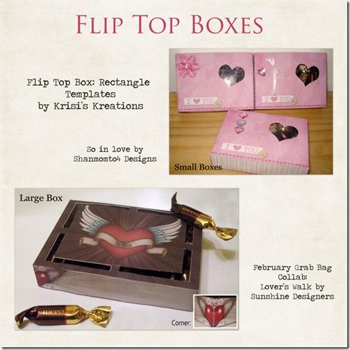 Flip-Top-Boxes