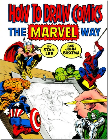 How-To-Draw-The-Marvel-Way-Comic-Book