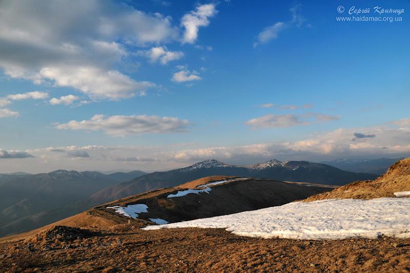 гори передвечірні