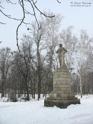 Лєнін у парку Самойлова