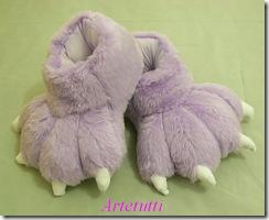 pantufa lilás