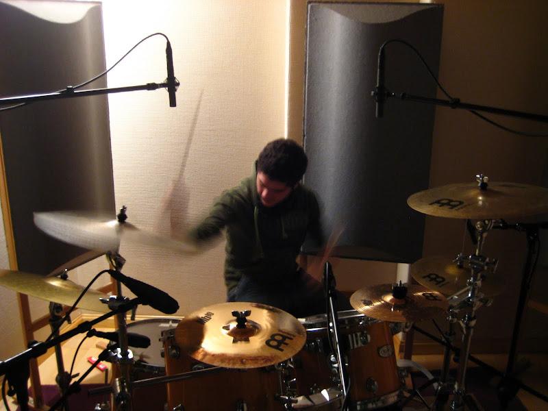 Jaimoxo grabando en Q-Studios