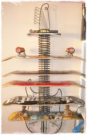 skateboard hylle