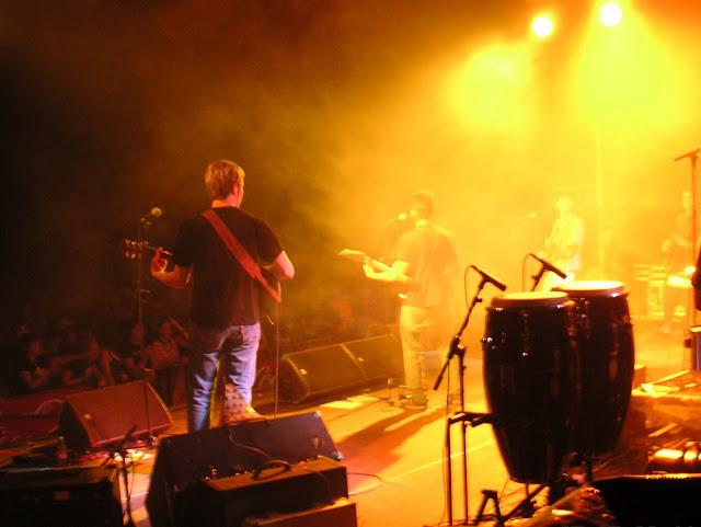 Actuaci&oacute; del grup palmarenc <b>La Trouppe Ska</b> en la novena edici&oacute; del concert Xapulina Roc. Edici&oacute; realitzada al Pla de Sant Joan. <b>Autor: Konfrare Albert</b>