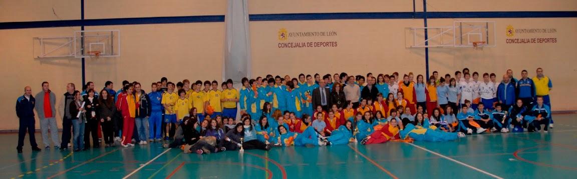 II Torneo Internacional de Le�n de Balonmano Cadete